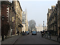 TL4458 : A misty morning in Trumpington Street by John Sutton