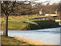 NT7233 : Confluence of Tweed and Teviot, Kelso by Richard Webb