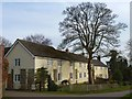 SK6821 : Houses in Saxelbye Lane, Grimston by Richard Green