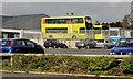 J3652 : Bus depot, Ballynahinch (1) by Albert Bridge