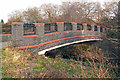 SP0682 : Bridge over the River Rea, Birmingham by Phil Champion