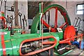 SJ9752 : Cheddleton Flint Mill - Robey Engine by Ashley Dace