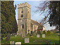 SO7409 : St James' Church, Saul by David Dixon