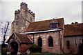 SU9298 : Little Missenden church by Christopher Hilton