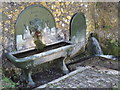 SU7433 : Ornamental Fountain, Selborne by Colin Smith