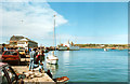 SV9010 : Hugh Town, The Quay 1990 by Roy Hughes