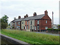 SJ7164 : Terraced houses  in Middlewich, Cheshire by Roger  Kidd