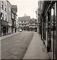 SO5174 : Ludlow High Street in 1965 by Roy Hughes