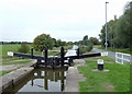 SJ7263 : Lock No 69 south-east of Middlewich, Cheshire by Roger  Kidd
