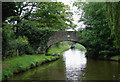SJ7362 : Stud Green Bridge near Elworth, Cheshire by Roger  Kidd
