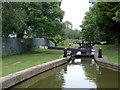 SJ7362 : Crows Nest Lock north-west of  Sandbach, Cheshire by Roger  Kidd