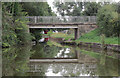 SJ7361 : Elton Moss Bridge west of Sandbach, Cheshire by Roger  Kidd