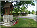 SO8751 : Norton Village and War Memorial by Peter Morgan