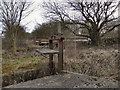 SD7909 : Sluice Gate, Bealey's Goit by David Dixon