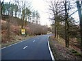 SK1588 : Snake Road at Bellhag Wood by Jonathan Clitheroe