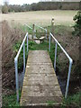 TL8836 : Footbridge by Keith Evans