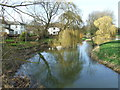 TL8838 : River Stour by Keith Evans