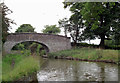 SJ7359 : Anne's Bridge west of Wheelock, Cheshire by Roger  Kidd