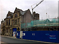 SD9927 : New building under construction next to Hebden Bridge Town Hall by Phil Champion