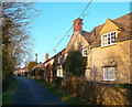 SP5024 : Caulcott Village Street by Des Blenkinsopp