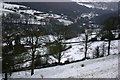SE0025 : Fields and winter trees in Cragg Vale by Phil Champion