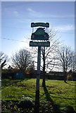 TQ7651 : Boughton Monchelsea Village sign by N Chadwick