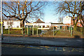 SJ8292 : Entrance to Chorlton Park Primary School, Mauldeth Road West, Chorlton by Phil Champion