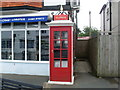SZ6488 : Telephone Kiosk in Bembridge (2) by David Hillas