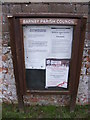 TM4789 : Barnby Village Notice Board by Adrian Cable