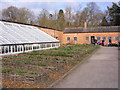 SJ5410 : Walled Garden Greenhouse by Gordon Griffiths