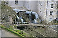 SK1772 : Water turbines at Cressbrook by Chris Allen