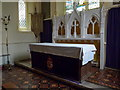 TL5211 : St Mary the Virgin, Matching, Altar by Alexander P Kapp