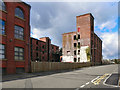 SD7208 : Derelict Mill, River Street by David Dixon