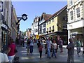 SU4829 : Winchester High Street by Chris Morgan