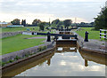 SJ7858 : Pierpoint Lock No 56 east of Hassall Green, Cheshire by Roger  Kidd