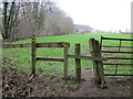 SJ5455 : Footpath near Peckforton Moss by Jeff Buck