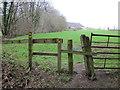 SJ5455 : Footpath near Peckforton Moss by Jeff Buck