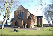 SU8652 : Garrison Church of St Andrew of Scotland by Nigel Chadwick