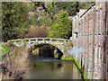 SJ8383 : Quarry Bank Mill Footbridge by David Dixon