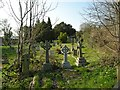 TQ4162 : Keston Parish Churchyard by Eric Lyus