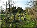 TQ4162 : Keston Parish Churchyard by Eric Lyus