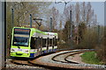 TQ3468 : Tram in South Norwood Country Park : Week 12