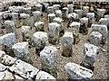NY7766 : Hypocaust, Vindolanda praetorium by Andrew Curtis