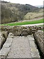NY7766 : Toilet block, Vindolanda by Andrew Curtis