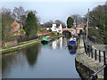 SJ6887 : Bridgewater Canal, Lymm by David Dixon
