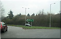 TQ0090 : A413 north from Gravel Hill roundabout by John Firth