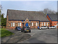SJ6887 : Lymm Community Library by David Dixon