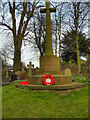 SJ6886 : War Memorial, St Mary's Churchyard by David Dixon