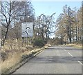NJ6505 : Approaching staggered crossroads near Upper Learney by Stanley Howe
