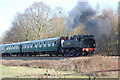 TQ8326 : Steam Train near Northiam Station by Julian P Guffogg